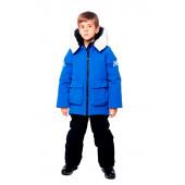 Куртка пуховая BASK kids для мальчика HYPE синяя