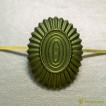 Кокарда РА малая металлическая защитная нового образца ФМ-373