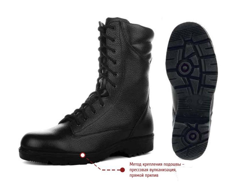 5e85bb44b Ботинки с высокими берцами уставные ВС РФ, производитель Largos ...