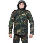 Куртка с капюшоном МПА-26 (ткань софтшелл), камуфляж излом