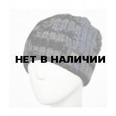 Шапка полушерстяная marhatter MMH 8409/2 чёрный+серый 001,012