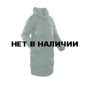 Пальто пуховое женское BASK LUNA темно-зеленое