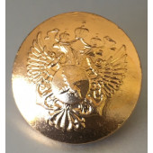 Пуговица Росрыболовство диам. 22мм металл