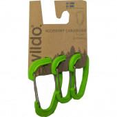 Карабины для аксессуаров в наборе ACCESSORY CARABINER 3-SET от WILDO® APPLE, 89625