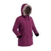 Удлиненная женская куртка-парка BASK MEDEA V2 светло-фиолетовая