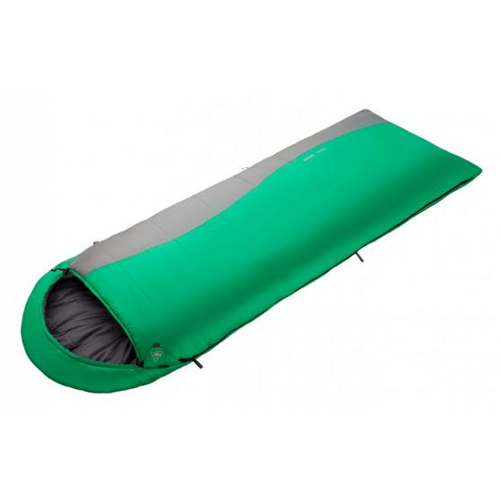 Спальный мешок BASK MILD -15 зеленый/темно-серый