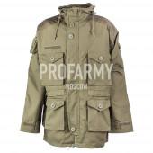Куртка Smok (олива) длинная демисезонная