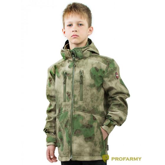 Куртка детская Softshell TURBO (мох)