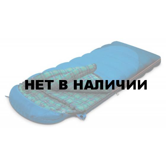 Мешок спальный TUNDRA Plus синий, левый