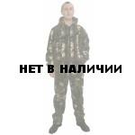 Флисовый костюм Барсук, камуфляж Дубок