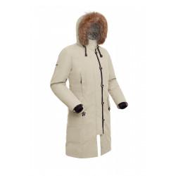 Пальто пуховое женское BASK HATANGA V2 бежевое