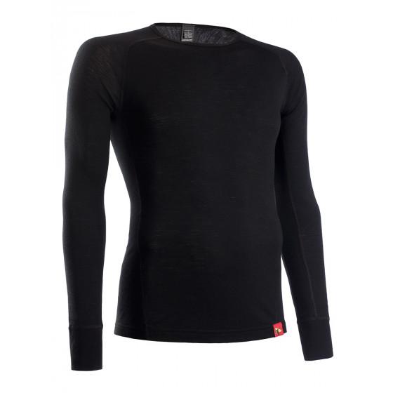 Термобелье куртка BASK MERINO WOOL MJ черная