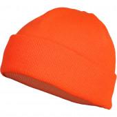 Шапка вязанная двойная Thinsulate флуоресцентный оранжевый