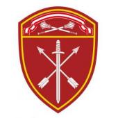 Нашивка на рукав с липучкой Росгвардия Центральный округ в/ч Оперативного назначения пластик