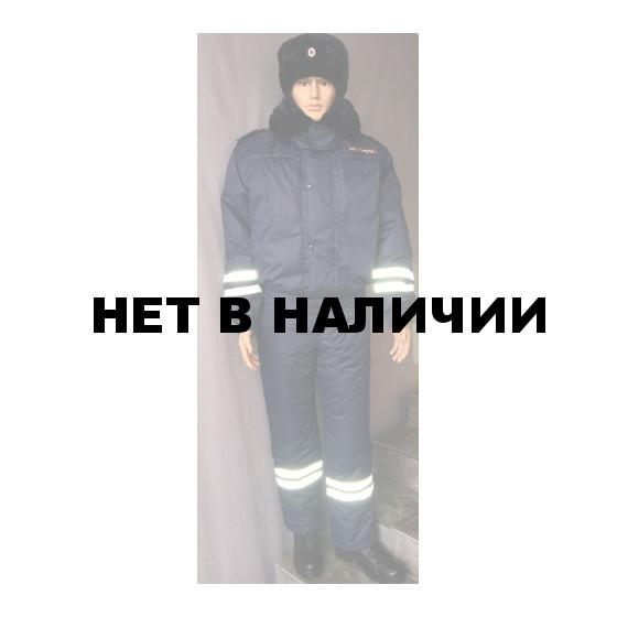Костюм ДПС зимний (мембрана, подкладка фольга, наполнитель холофайбер)