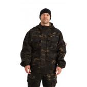Костюм БАРС куртка/брюки, цвет:, камуфляж Мультикам черный, ткань : Грета
