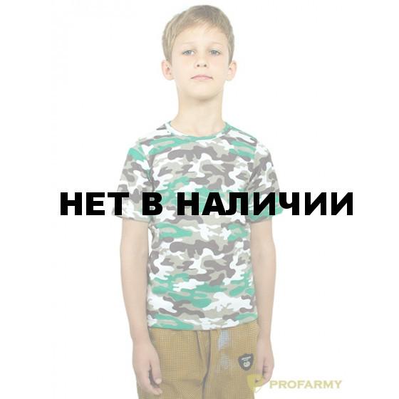 Футболка детская White Camo короткий рукав
