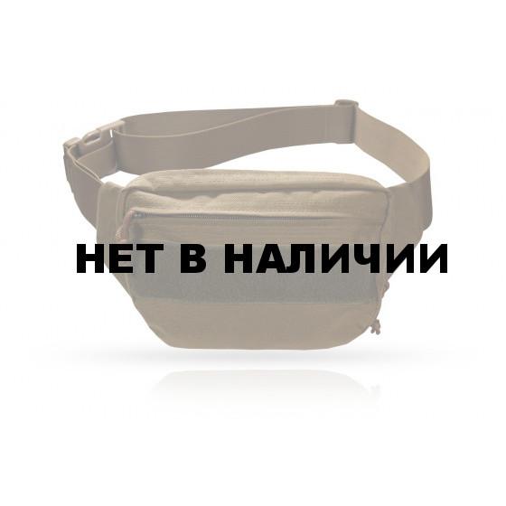 Подсумок UP-116-СВ койот поясная утилитарная сумка-кобура