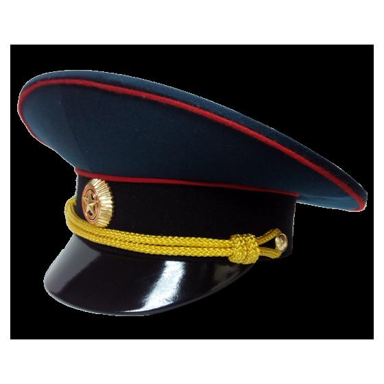 Фуражка МО черный околыш парадная модельная