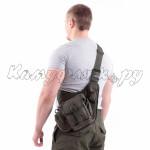 Сумка на плечо KE Tactical Sturm 4.5 литра Cordura 1000 Den олива темная