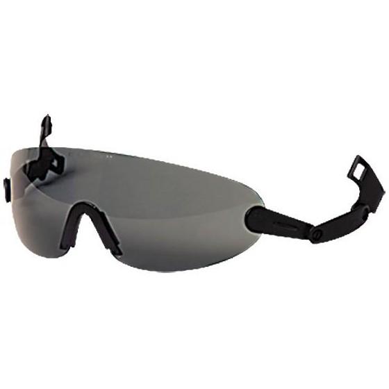 Очки защитные 3М V6В с креплением на каску (дымчатые)