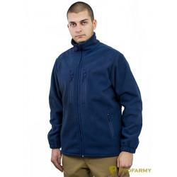 Куртка HUSKY MPF-09 флис синяя