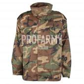 Куртка Mil/Tec M-65 Woodland подстегом