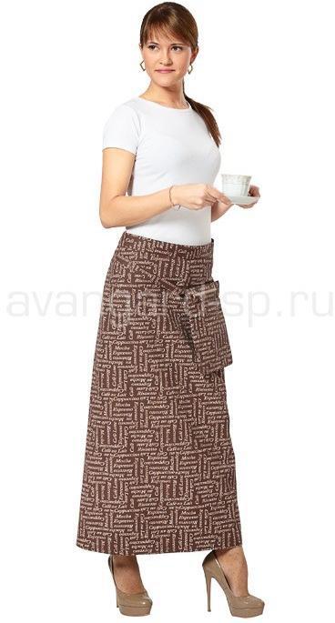 Фартук с навесным карманом Капучино 29a72625b1fb0