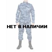 Костюм летний МПА-04 (НАТО-1), камуфляж серо-голубая цифра крупная
