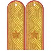 Погоны Полиция генерал-майор на китель парадные