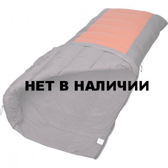 Спальный мешок одеяло Cloud light пуховый серый/терракот 200x80