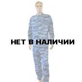 Костюм Склон смесовый синий камыш