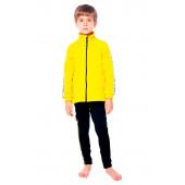 Куртка флисовая детская BASK kids PIKA желтая