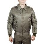 Куртка демисезонная МПА-34 (Пилот) хаки твил/файбертек 120