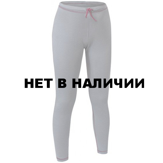 БРЮКИ ДЕТСКИЕ MERINO WOOL KIDS PANTS СЕРЫЙ/БОРДО 28/110