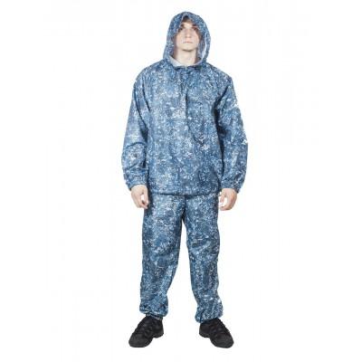Костюм Зонтик (оксфорд серо-голубая цифра) недорого - 540 р ... ac8254c5681a3