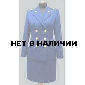 Юбка Прокуратура синий индивидуальный пошив