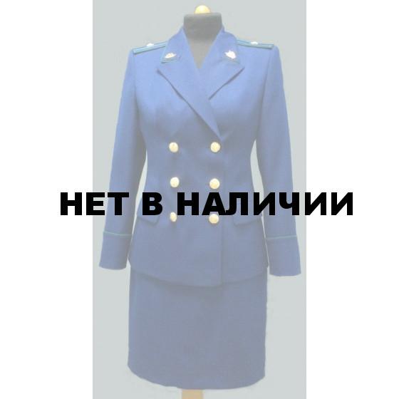 Жакет Прокуратура двубортный синий индивидуальный пошив