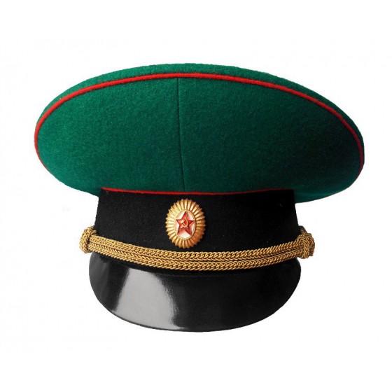 Фуражка Пограничные войска (старого образца) офицерская уставная
