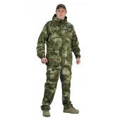 Костюм СУМРАК куртка/брюки, цвет:, камуфляж Атака зелёная, ткань : Рип-Стоп