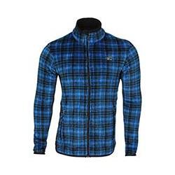 Куртка Cell Polartec High-Loft синяя клетка