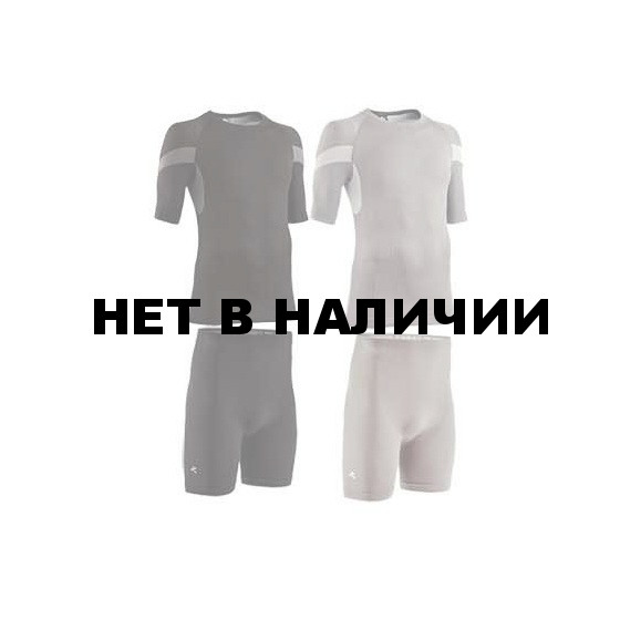 КОMПЛ ТЕРМОБЕЛЬЯ EXTRA FIT LIGHT MAN ФУТБ+ШОРТЫ СЕРЫЙ ТМН L-XL