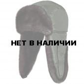 Шапка ушанка Соболь (ткань Cell)