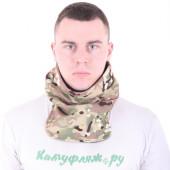 Морской шарф Keotica флисовый multicam