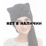 Шапка полушерстянаяmarhatter женская MWH 7128/2 черный