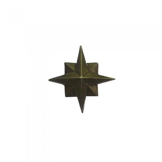 Знак различия Звезда МЧС 22мм полевая металл