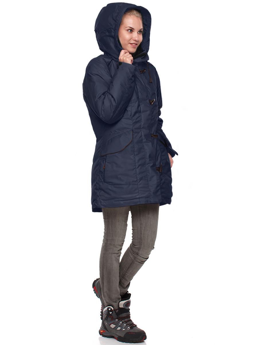 8bcfdfe3915 Куртка пуховая женская BASK ALBERTA темно-синяя