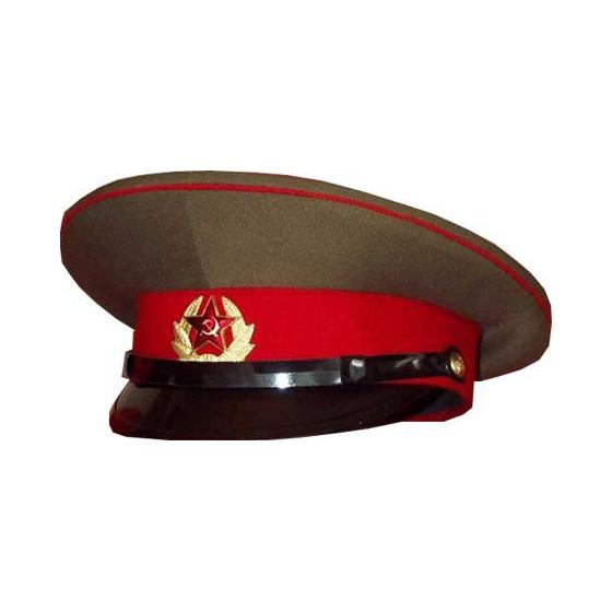 Фуражка ВС СССР с красным околышем уставная