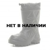 Сапоги зимние детские WOODLAND ЭВА, черные 490НУ