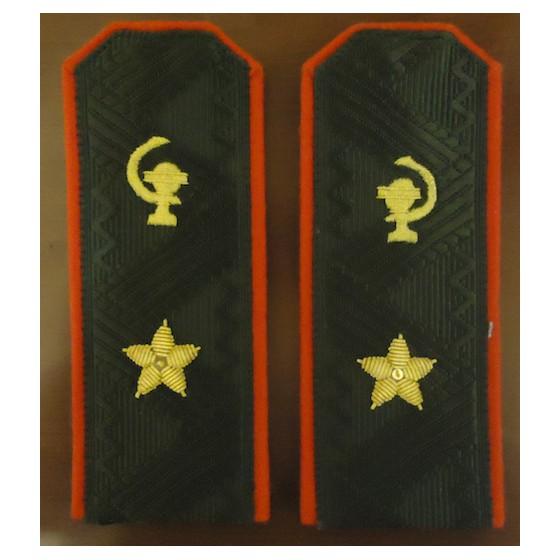 Погоны Медицинская служба ВМФ генерал-майор повседневные трапеция